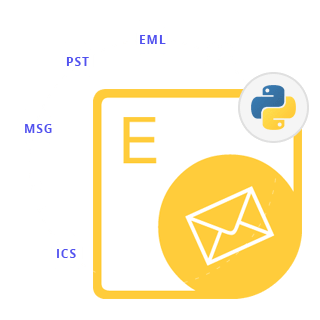 Python Outlook Email API for MSG EML PST MBOX MHT