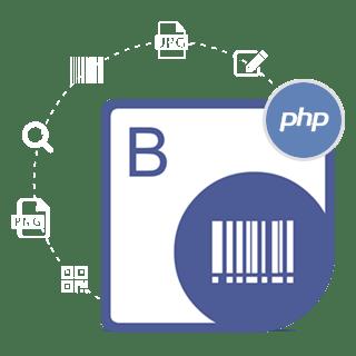Aspose.BarCode for PHP via Java