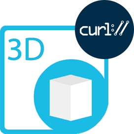 Aspose.3D Cloud for cURL