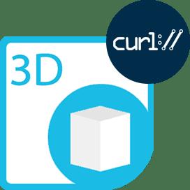 Aspose.3D Cloud for cURL