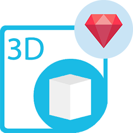 Aspose.3D Cloud SDK for Ruby