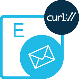 REST based cURL for Email manipulation