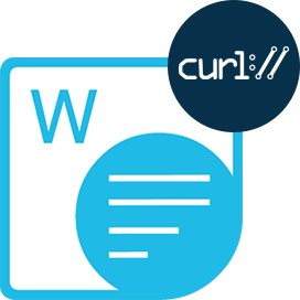 Aspose.Words Cloud SDK for cURL