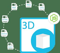 Aspose.3D Cloud SDK for Node.js