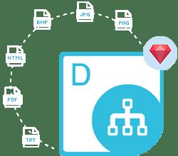 Aspose.Diagram Cloud SDK for Ruby